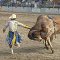Rodeo Clown by Jerry McElroy
