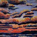 Roiling Skies by Art Nomad Sandra  Hansen