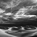 Rolling Sand Dunes Bw by Greg Clure
