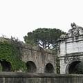 Roman Aqueduct by Manuela Constantin