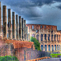 Roman Colosseum by E R Smith
