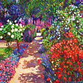 Romantic Garden Walk by David Lloyd Glover