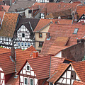 Roofs Of Bad Sooden-allendorf by Heiko Koehrer-Wagner