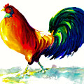 Rooster - Big Napoleon by Jacki Kellum