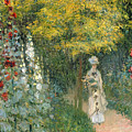 Rose Garden by Claude Monet