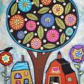 Round Tree by Karla Gerard