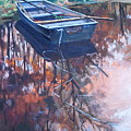 Rowboat Ashore by Dianna Willman