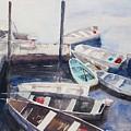 Rowboats by M Jan Wurst