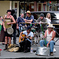 Royal Street Musicians by Linda Kish