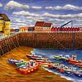 Rozel Harbour - Jersey by Ronald Haber