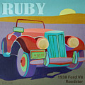 Ruby Ford Roadster by Evie Cook