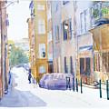 Rue Saint Georges by Joel Tenzin