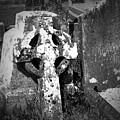 Rugged Cross At Fuerty Cemetery Roscommon Ireland by Teresa Mucha