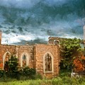 Ruins Under Stormy Clouds by Marcin and Dawid Witukiewicz