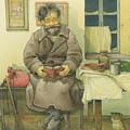 Russian Scene 03 by Kestutis Kasparavicius