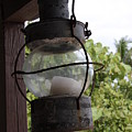 Rusty Lantern by Christiane Schulze Art And Photography