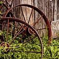Rusty Wheels by Jill Smith