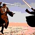 Saber Battle by George Pedro