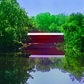 Sachs Covered Bridge - Gettysburg Pa by Bill Cannon