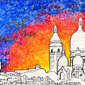 Sacre Coeur by Alyson Therrien