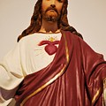 Sacred Heart Of Christ by Michelle Hastings