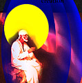 Sai On Stone by Sunil Shegaonkar