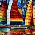 Sail Regatta by Leonid Afremov