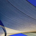 Sailcloth Abstract Times Two by Bob Orsillo