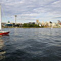 Sailing Downtown by Tom Dowd