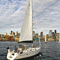 Sailing In Seattle by Tom Dowd