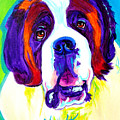 Saint Bernard -  by Alicia VanNoy Call