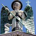 Saint Michael The Archangel Lucca Tuscany by Mathew Lodge