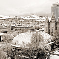 Salt Lake City Landmarks by Marilyn Hunt