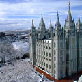 Salt Lake City Lds Temple by Richard Coletti