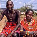Samburu Couple by Michele Burgess