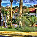 San Clemente Estate 3 by Kathy Tarochione