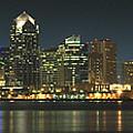 San Diego Cityscape by Mike McGlothlen