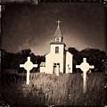 San Patricio Church IIi Sepia by Matt Suess