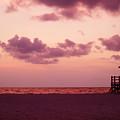 Sand Key Sunset by Milton Brugada