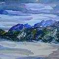 Sandia Mountains by Judith Espinoza