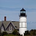 Sandy Neck Light  Barnstable Cape Cod Massachusetts by Michelle Wiarda-Constantine