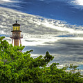 Sanibel Island Lighthouse by Joe Paniccia