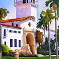 Santa Barbara Court House by Dorothy Nalls