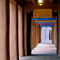 Santa Fe Sidewalk by Terry Anderson