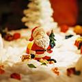Santa In Town by Sun Wu