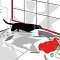 Santa Left His Toys by Su Humphrey