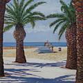 Santa Monica Beach  by Karen Doyle