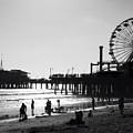 Santa Monica Pier by John Gusky
