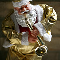 Santa Playing The Saxaphone by Marilyn Hunt