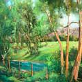 Santa Rosa Creek by Sally Seago